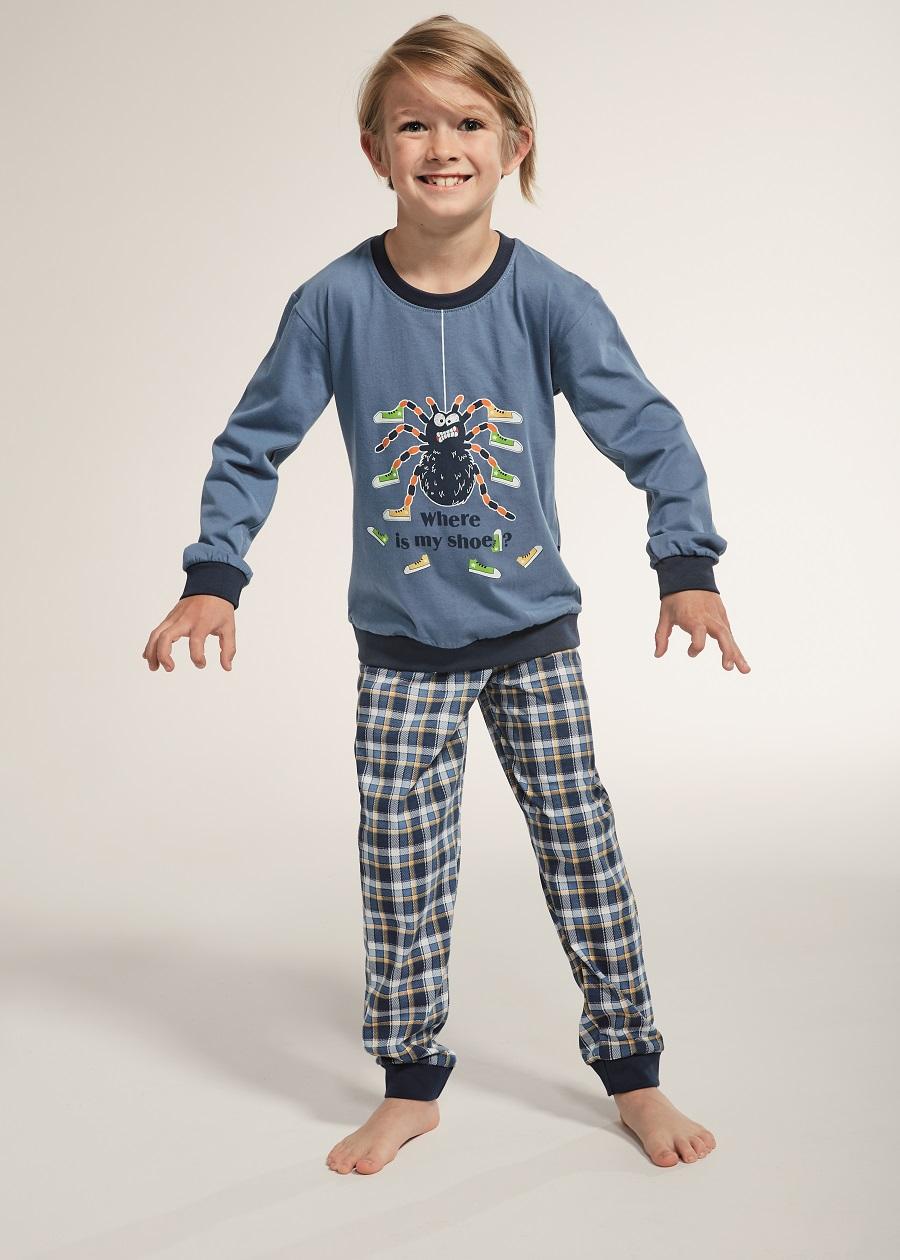Kvalitní bavlněné chlapecké pyžamo je základem kvalitního spánku